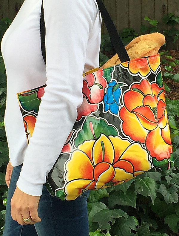 Medium Oilcloth Tote